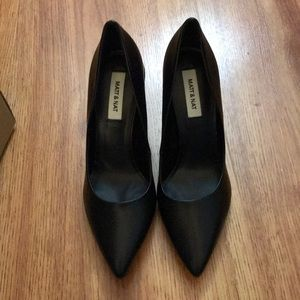 NIB Matt & Nat black pumps